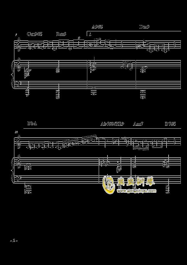 爵士组曲:尤利西斯的梦呓(其二)钢琴谱 第2页