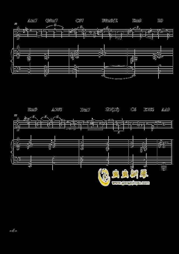 爵士组曲:尤利西斯的梦呓(其二)钢琴谱 第4页