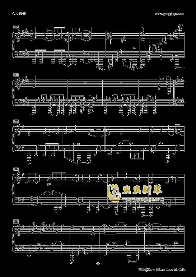 Butter-Fly钢琴谱 第6页
