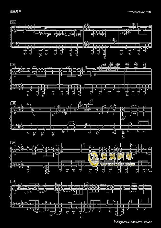 Butter-Fly钢琴谱 第7页
