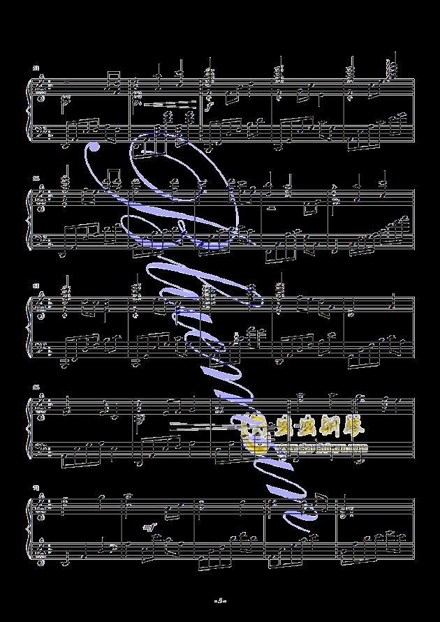 假如爱有天意钢琴谱 第3页