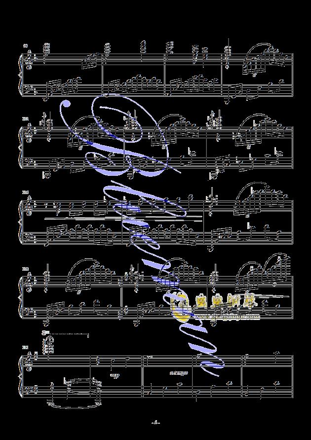 假如爱有天意钢琴谱 第5页