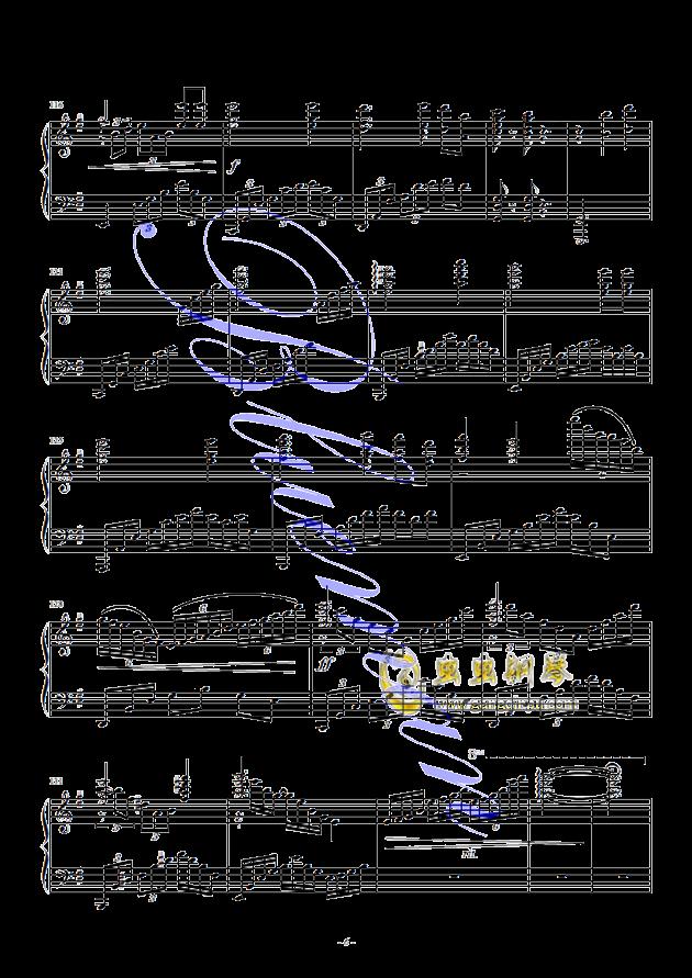 假如爱有天意钢琴谱 第6页