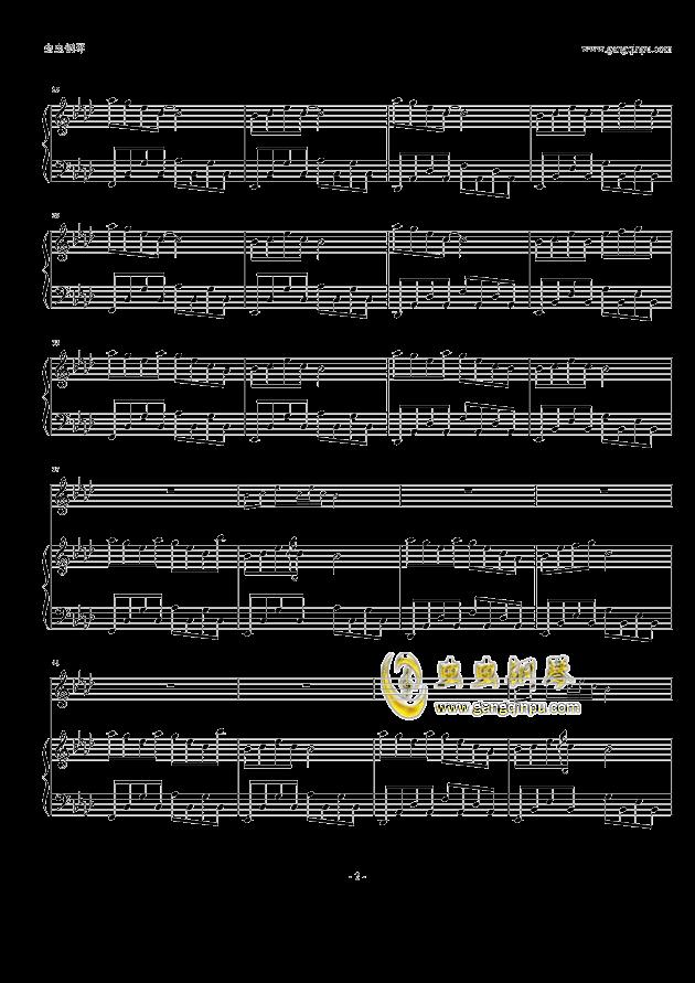 雨空钢琴曲谱子