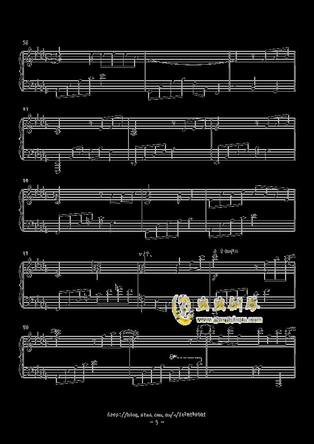 天空の花の都钢琴谱 第3页
