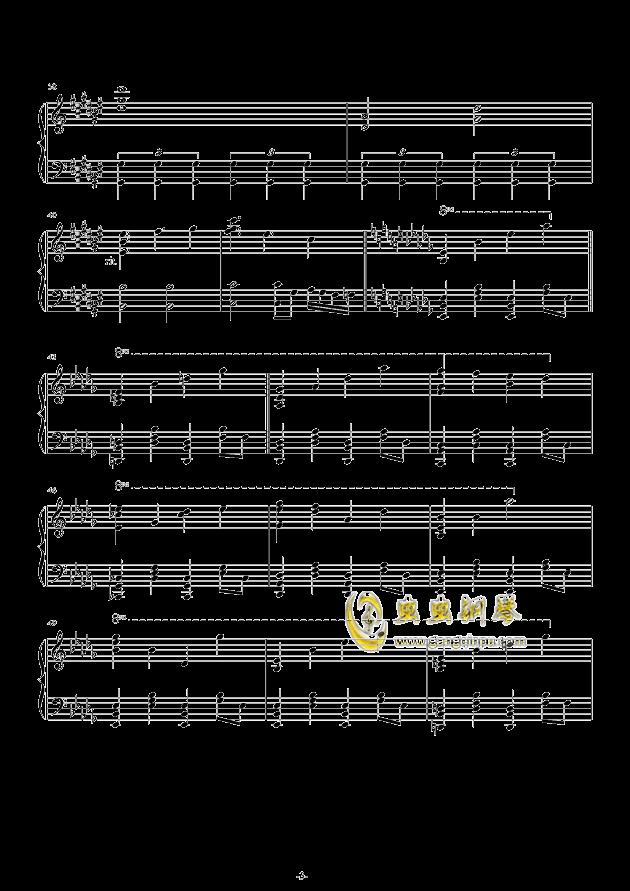 故�l之星倒映之海钢琴谱 第3页
