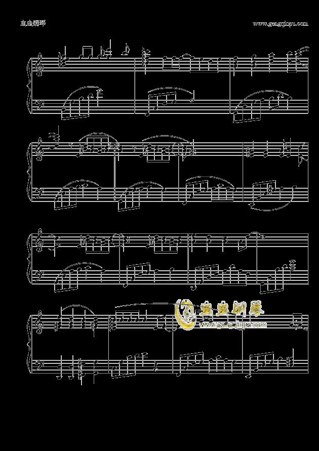 追钢琴谱 第2页