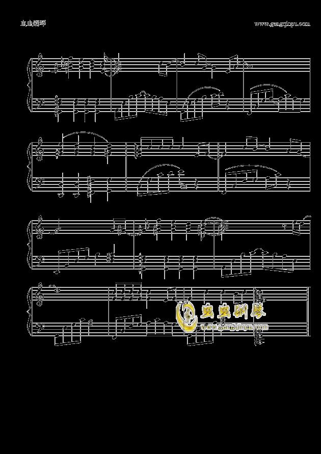 追钢琴谱 第3页