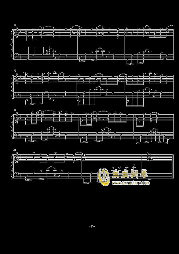 小幸运,小幸运钢琴谱,小幸运钢琴谱网,小幸运钢琴谱