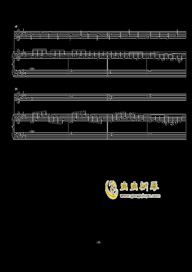 秋天の风钢琴谱 第7页
