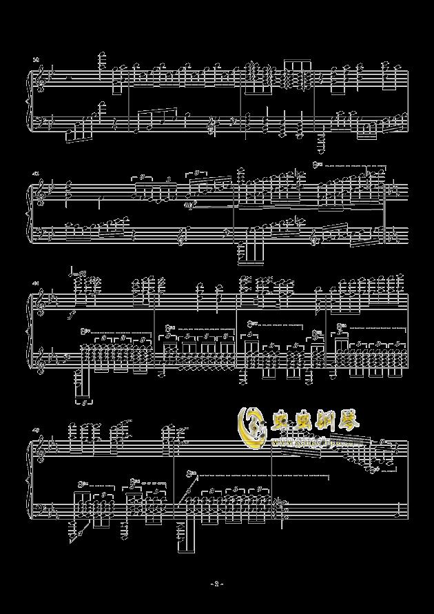 Bohemian Rhapsody钢琴谱 第3页
