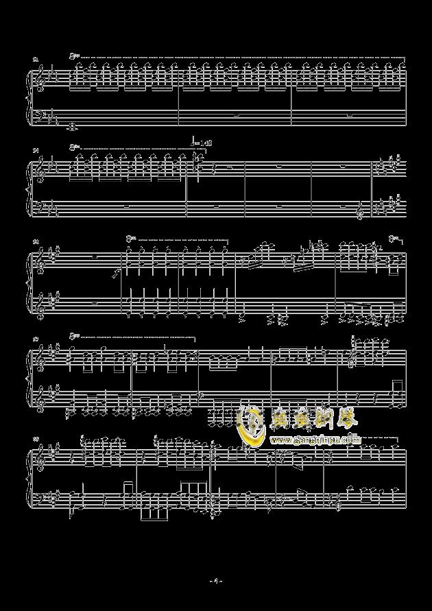 Bohemian Rhapsody钢琴谱 第4页