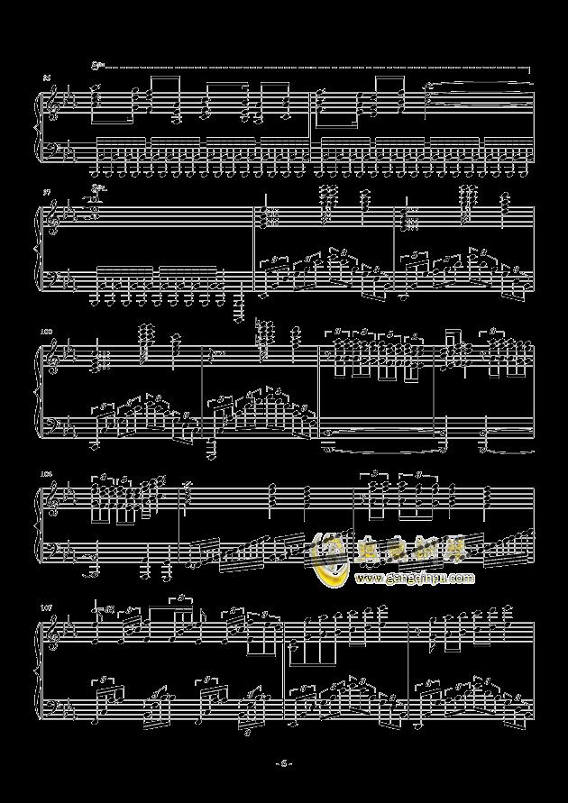 Bohemian Rhapsody钢琴谱 第6页