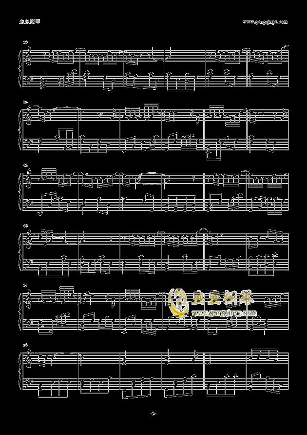 绅士钢琴谱 第2页