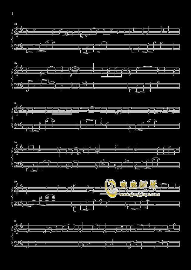 你还要我怎样钢琴谱 第3页