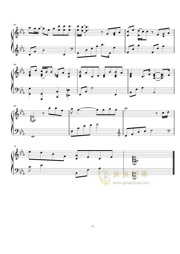 一个,还有一个钢琴谱,还有一个钢琴谱网,还有一个钢琴谱大全,