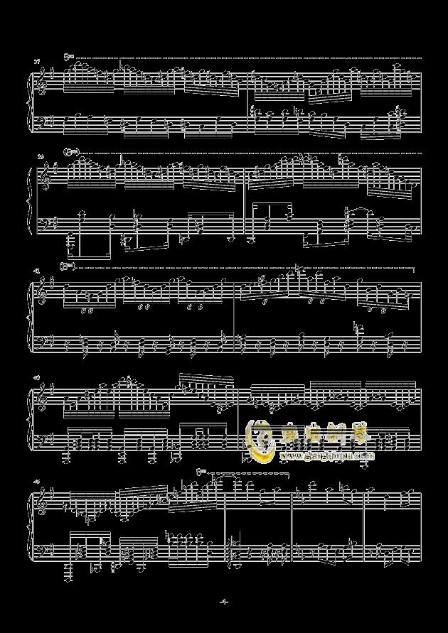 秋霜奏鸣曲钢琴谱 第4页