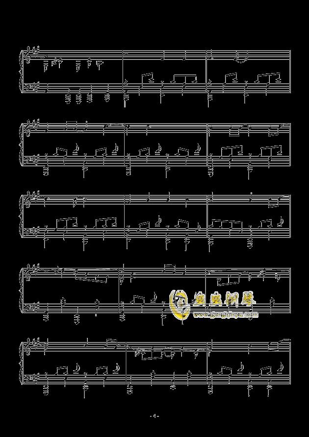 countonme钢琴简谱