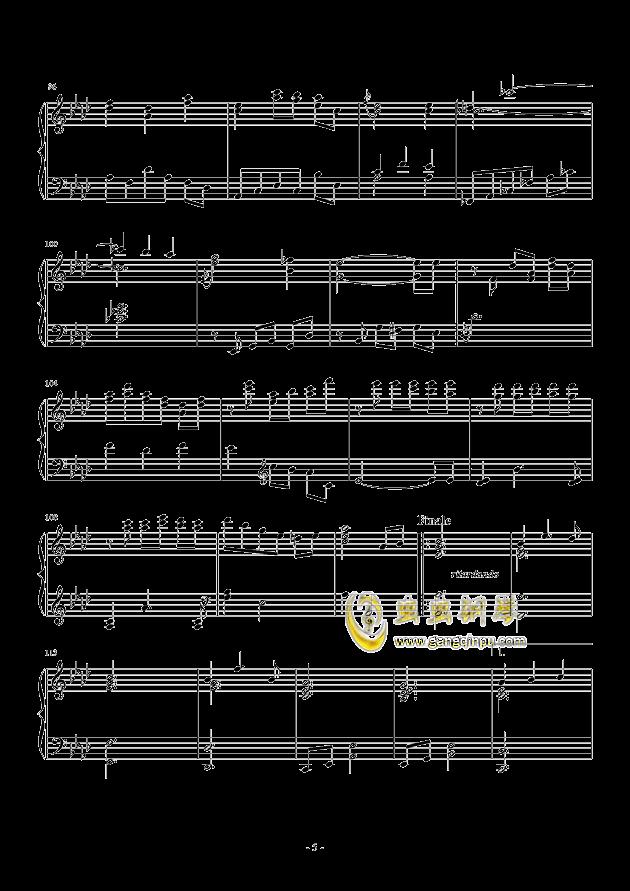 Romanza II钢琴谱 第5页