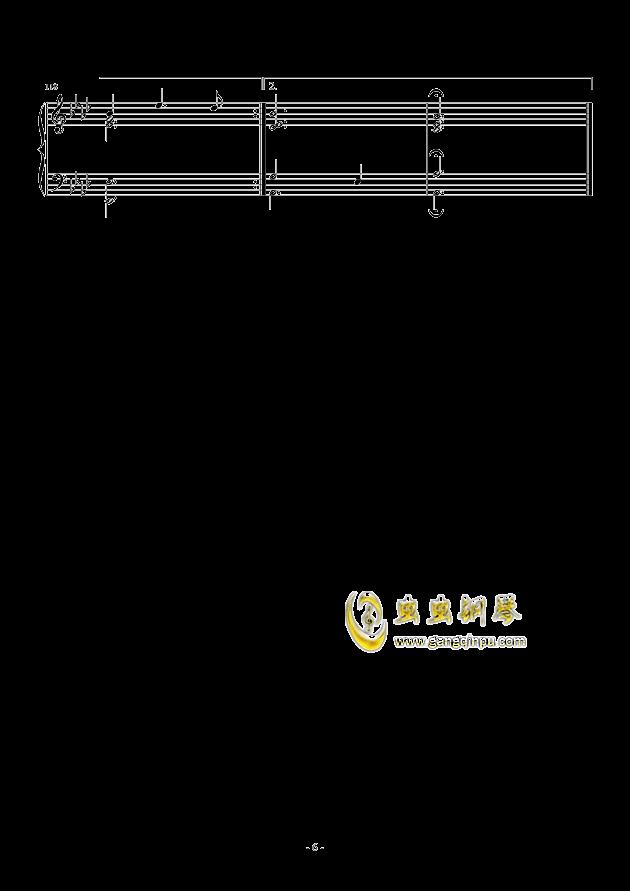 Romanza II钢琴谱 第6页