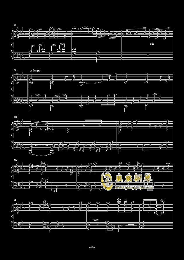 Fantasia I钢琴谱 第4页