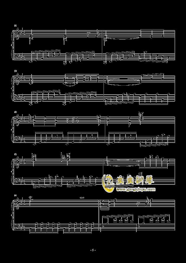 Fantasia I钢琴谱 第5页