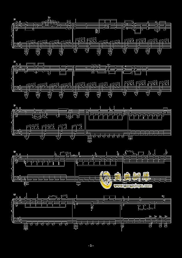�i(OP3)钢琴谱 第2页