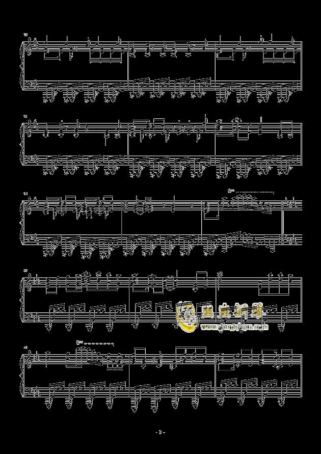 �i(OP3)钢琴谱 第3页