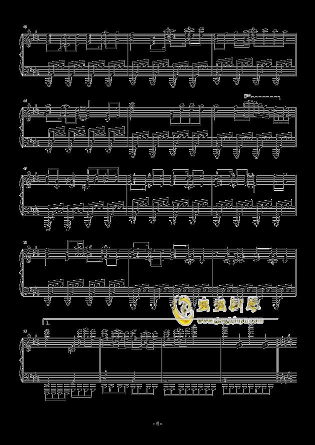 �i(OP3)钢琴谱 第4页