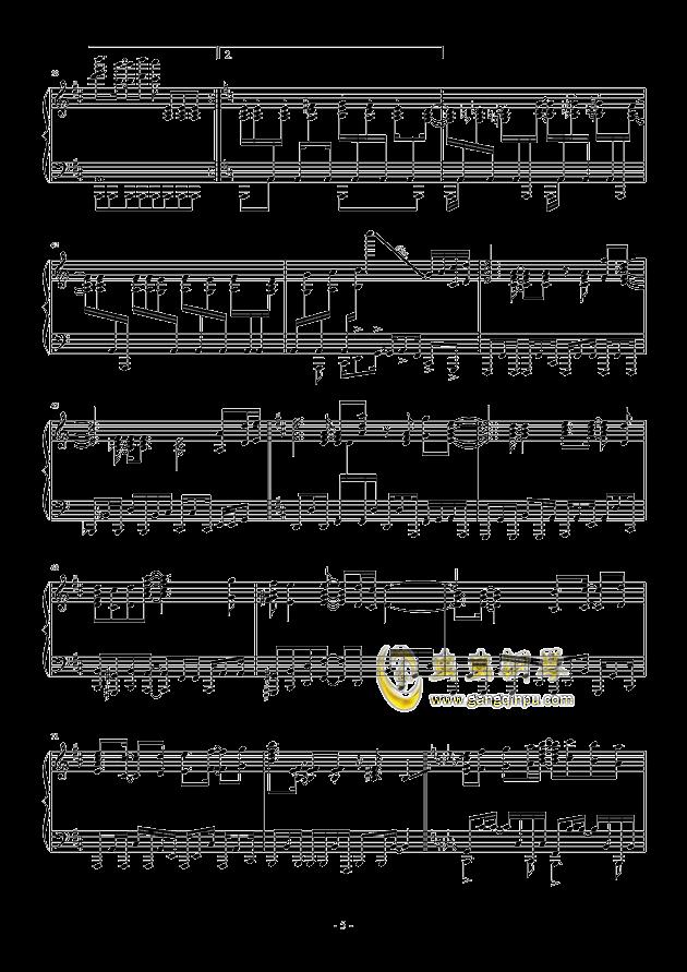 �i(OP3)钢琴谱 第5页