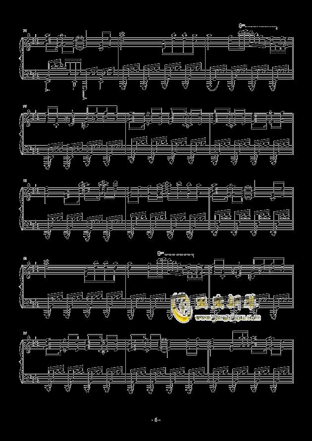 �i(OP3)钢琴谱 第6页