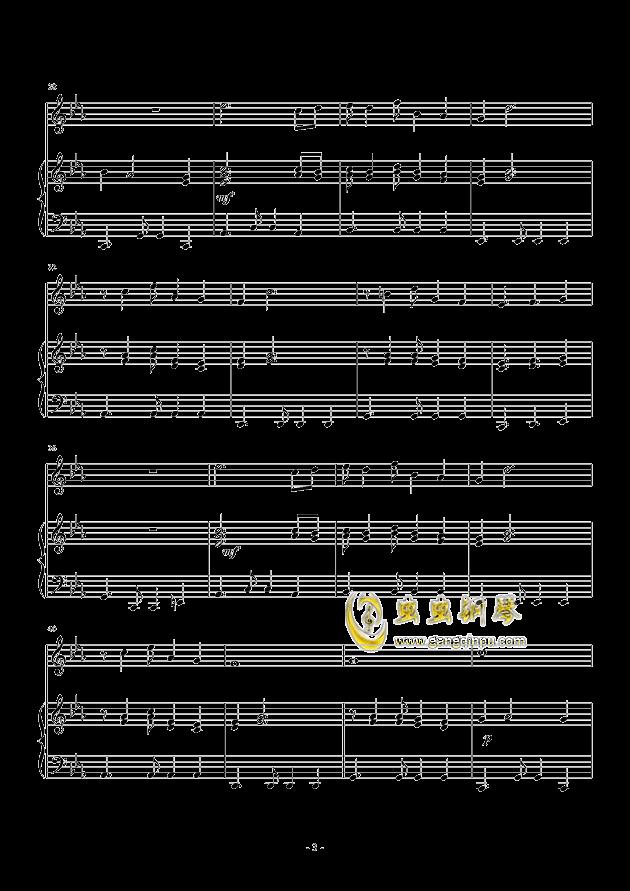 Oblivion钢琴谱 第3页