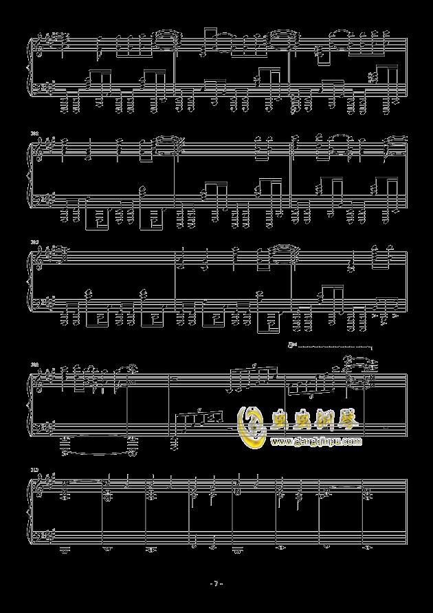 �\命のル�`レット�hして钢琴谱 第7页