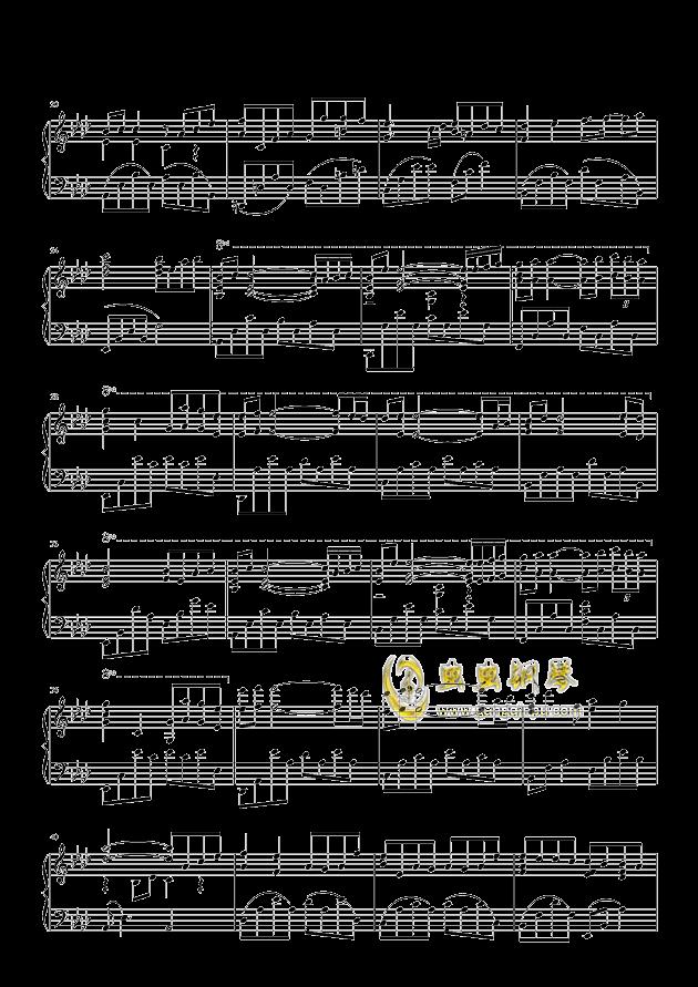 雨的印记钢琴谱 第2页