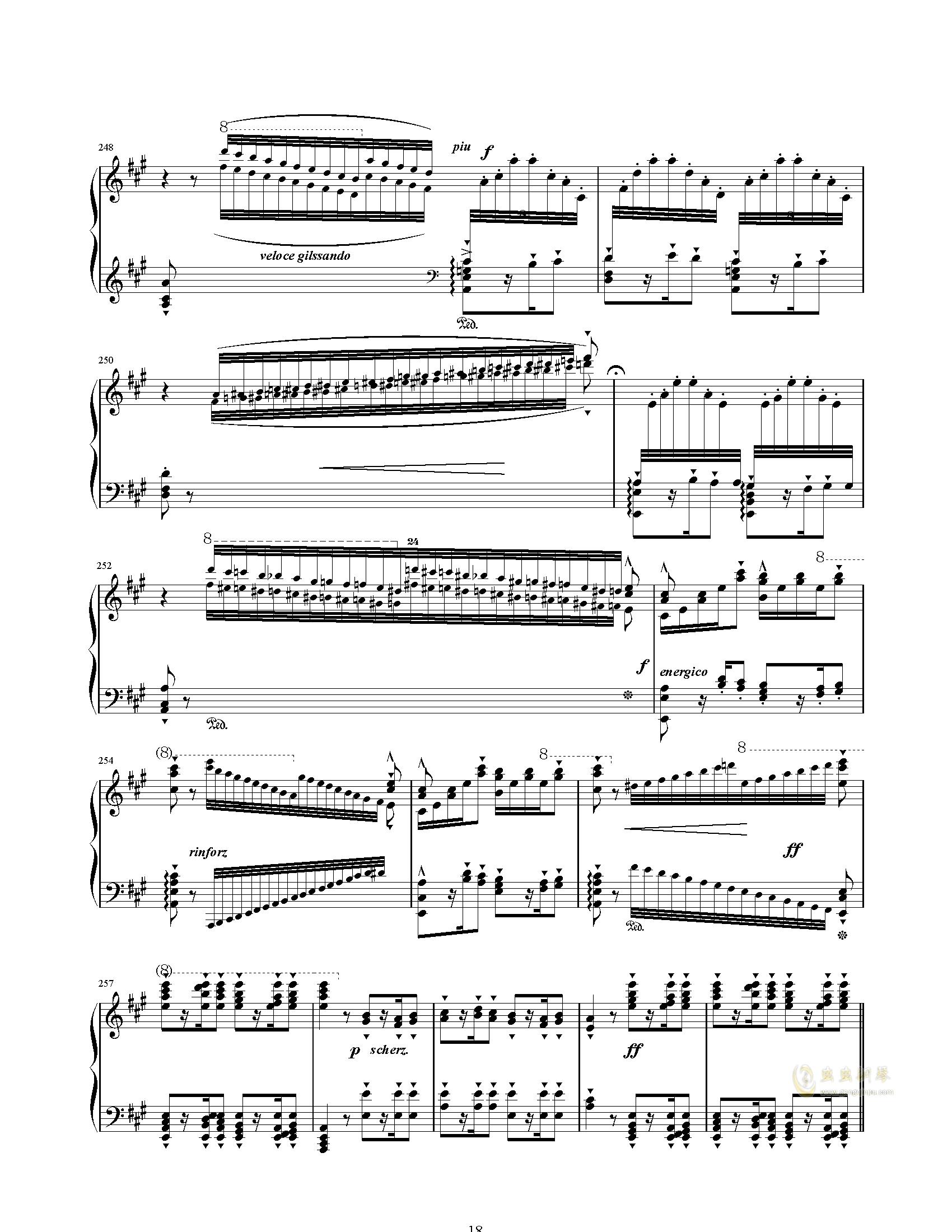 唐璜的回忆钢琴谱 第18页