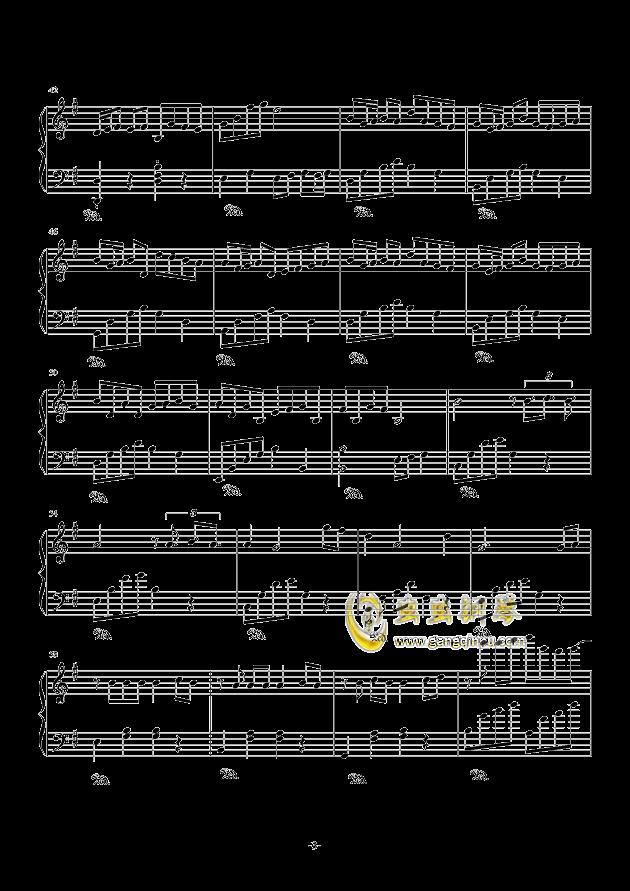 melody数字钢琴曲谱