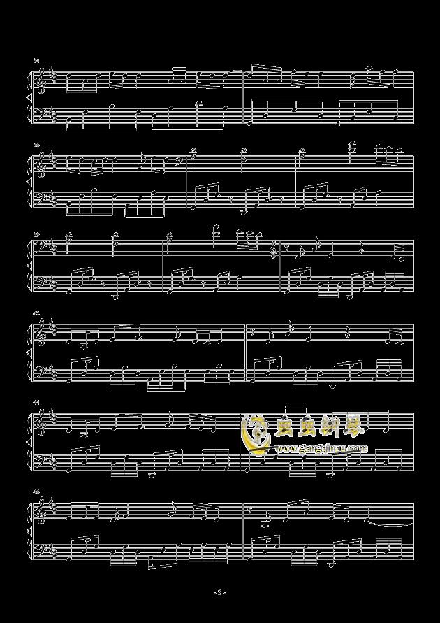 心做し钢琴谱 第3页