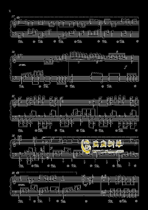 情网钢琴谱 第2页