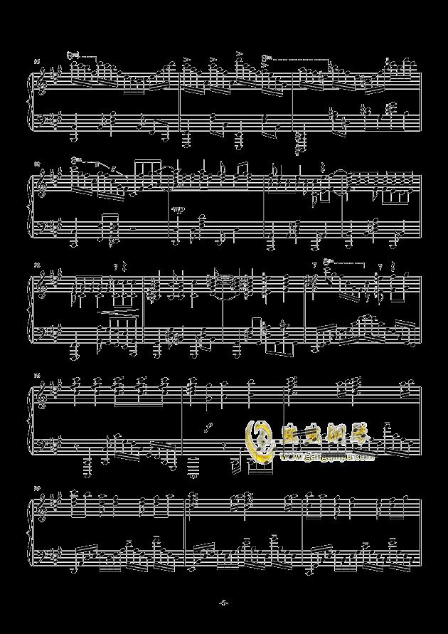 我们的战场钢琴谱 第5页