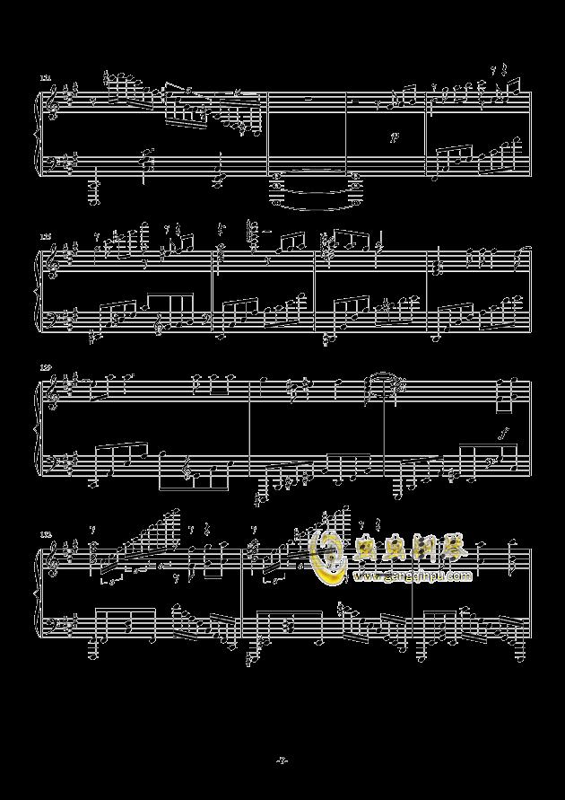 我们的战场钢琴谱 第7页