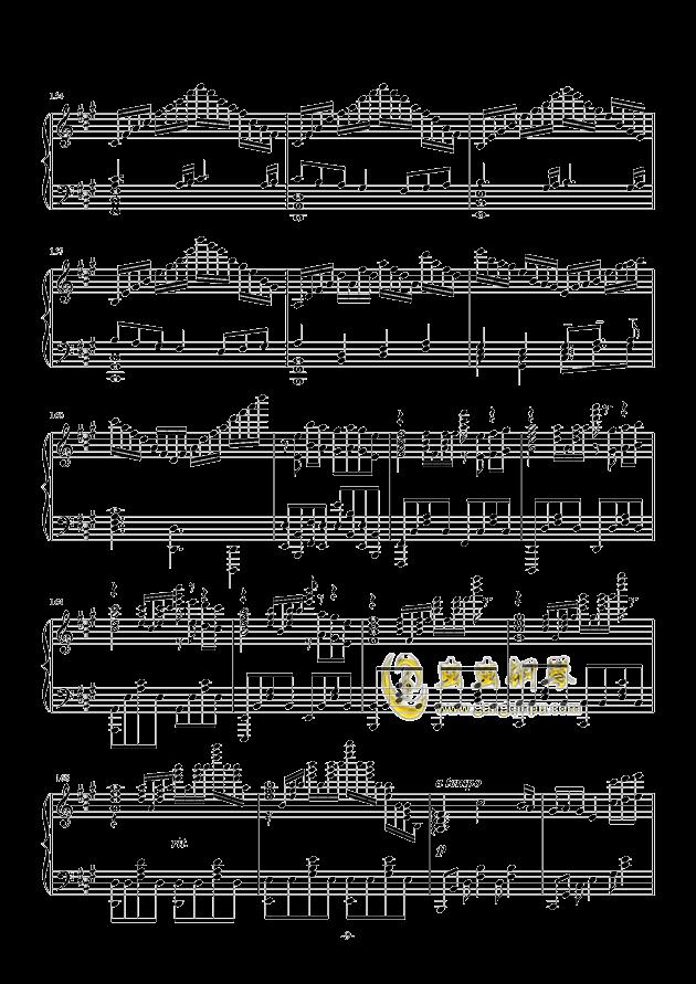 我们的战场钢琴谱 第9页