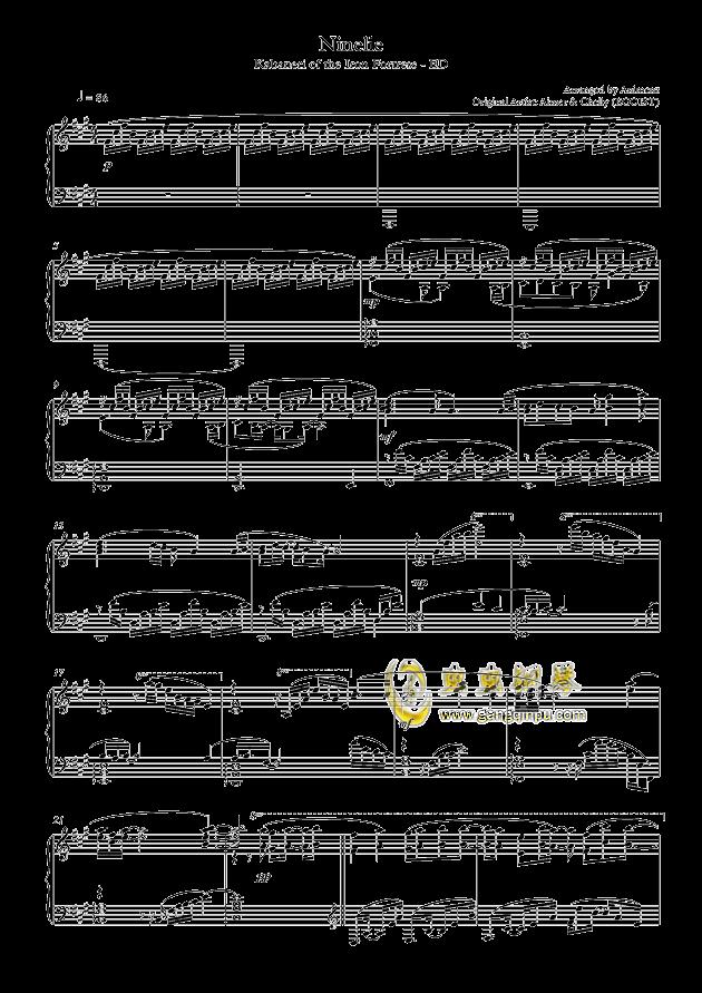 虫虫钢琴 钢琴谱 >> 影视游戏 >> animenz >>【animenz】甲铁城的卡巴