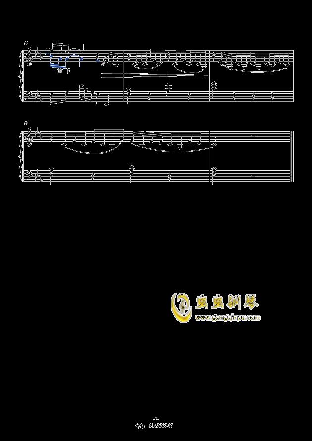 金龙鱼钢琴谱 第7页