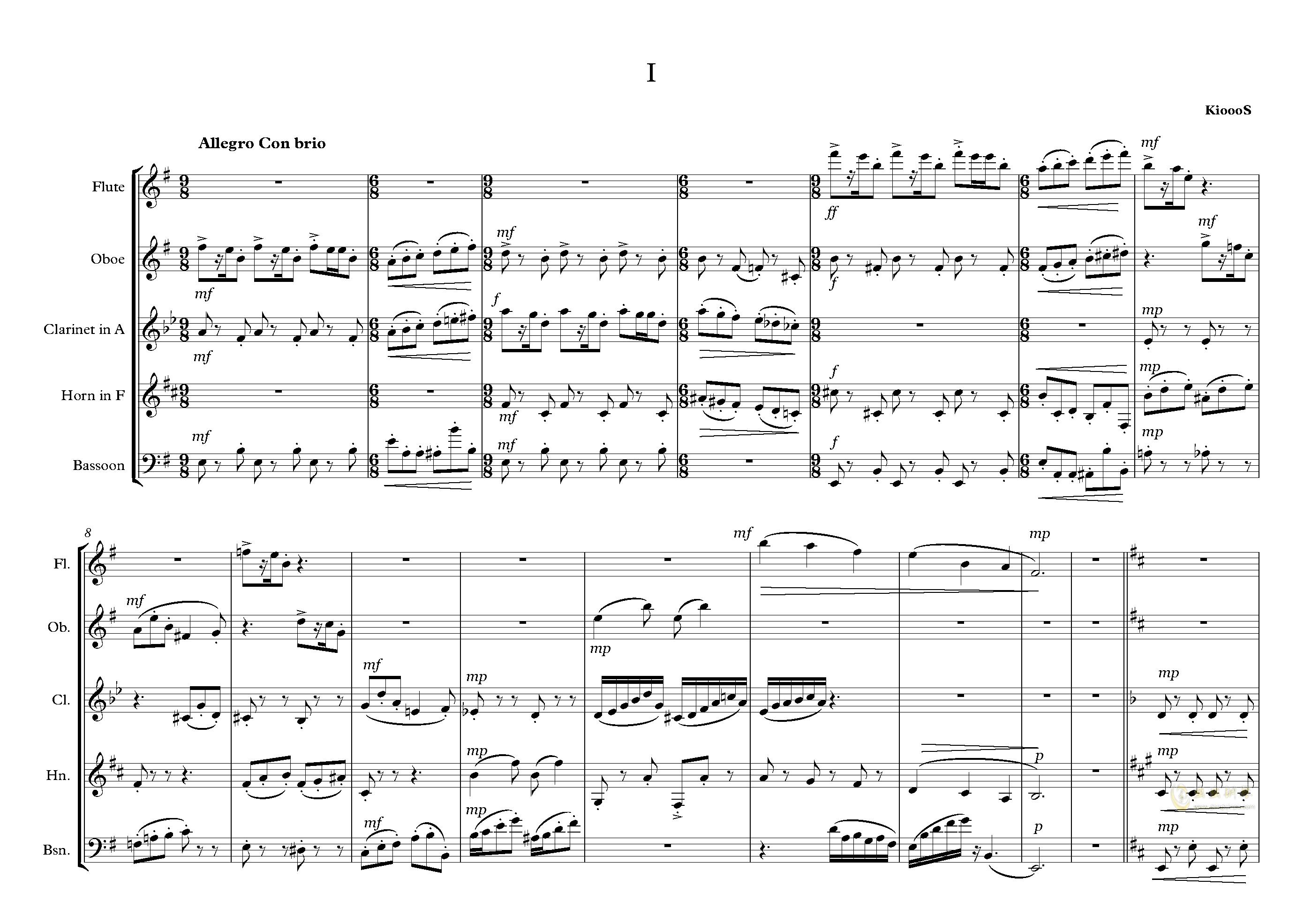 拉基钢琴谱 第2页