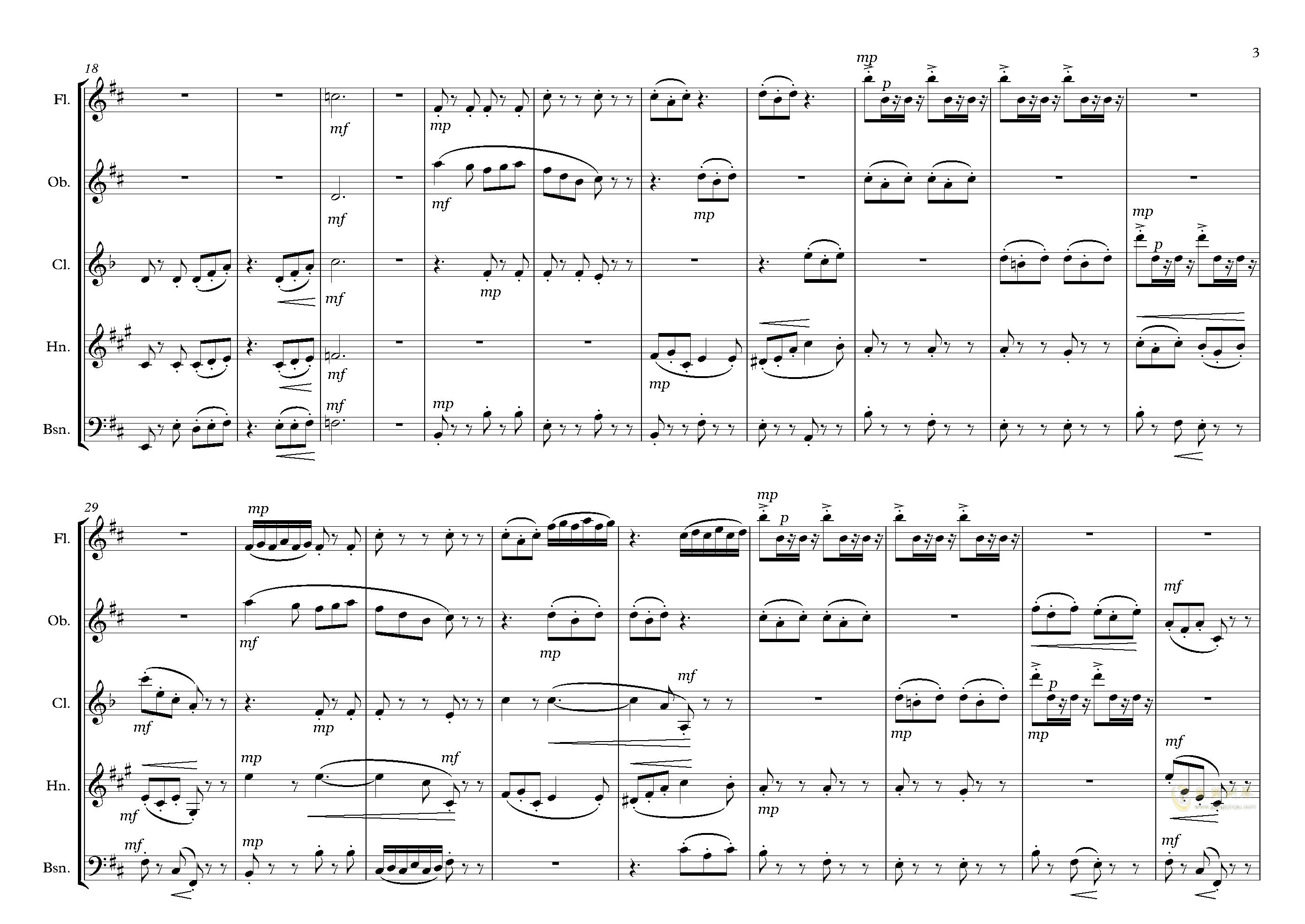 拉基钢琴谱 第3页