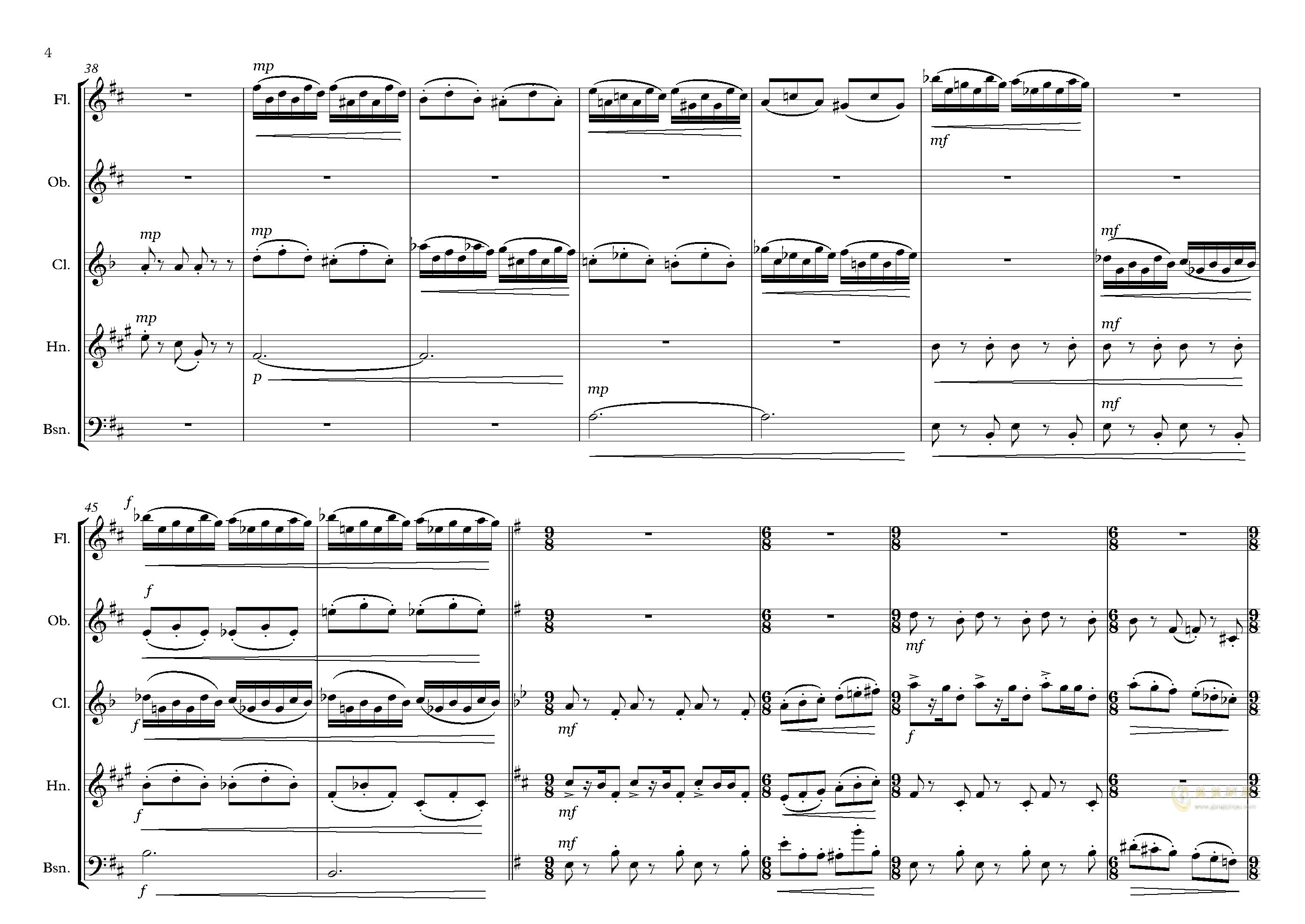 拉基钢琴谱 第4页