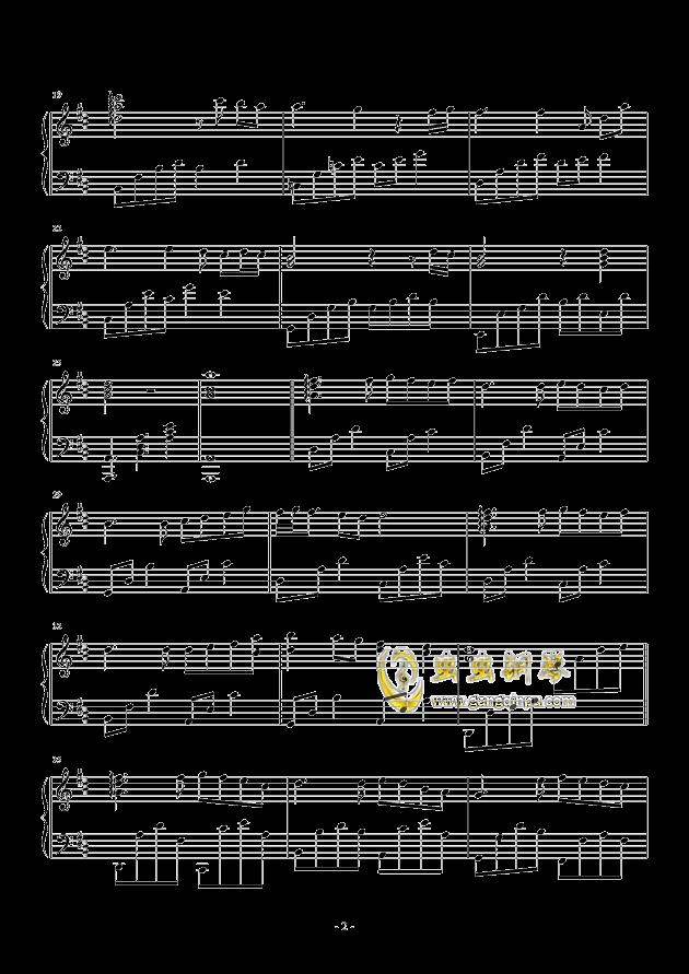 三月季钢琴谱 第2页