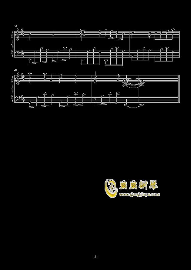 三月季钢琴谱 第3页