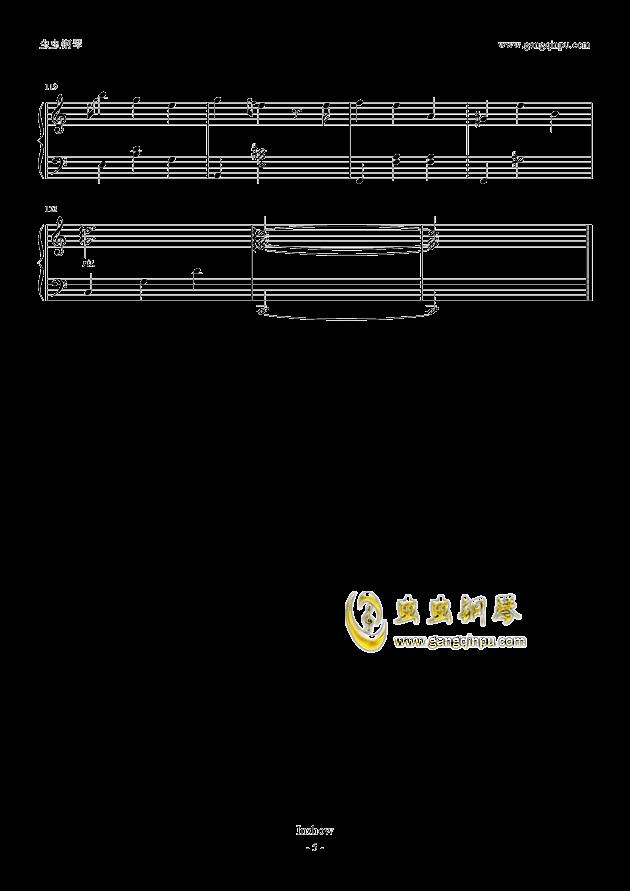 一笑倾城钢琴简谱图片分享下载