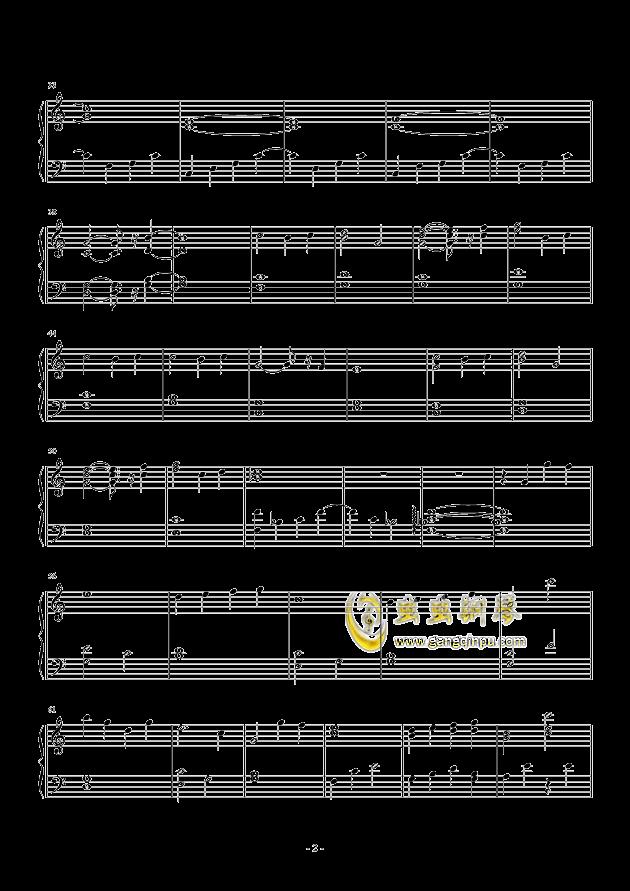 milk钢琴谱 第2页
